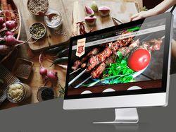 """Дизайн сайта для ресторана """"У Самвела"""""""