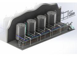 3D моделирование систем трубопроводов