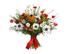 Обтравка букета цветов