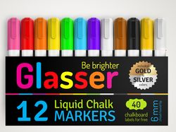Упаковка маркеров Gleaser