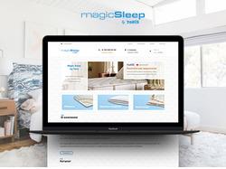 Дизайн интернет-магазина спальной продукции