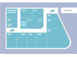 План этажей торгового комплекса