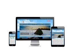 Адаптивный интернет-магазин рыболовных товаров