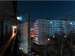 Цветокоррекция ночного пейзажа