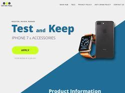 Сайт для Get, Test, Keep.