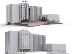 Здание Госсовета УР. г.Ижевск