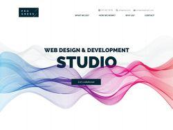 Web Studio Progress Landing