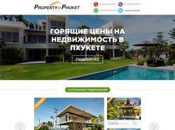 Property in Phuket landing page