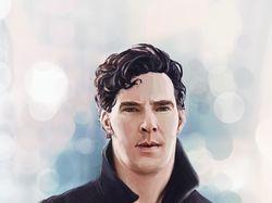 Иллюстрация Шерлок