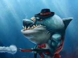 Акула персонаж