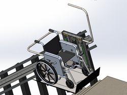 Проектирование подъёмника для инвалидов.