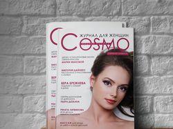 Верстка и дизайн журнала. InD