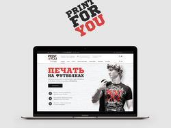 """Print4you"" website redesign"