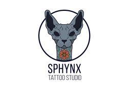 "Логотип для тату-студии ""Сфинкс"""