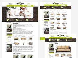 Дизайн сайта для мебельного салона