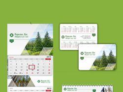Верстка календарей