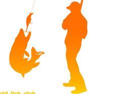 Логотип для рыболовного клуба