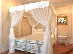 Угловая спальня в классическом стиле.