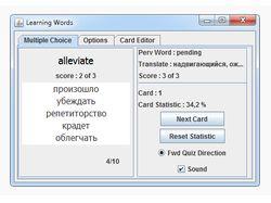 Learning Words - Java Swing приложение