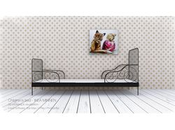Children's bed - IKEA MINNEN