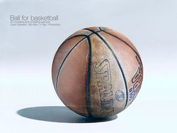 Ball for basketball