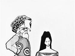 """Серия иллюстраций """"Учитель"""""""