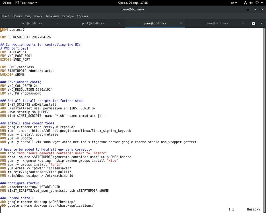 Написание Dockerfile — Работа №2 — Портфолио фрилансера Дмитрий Шпак
