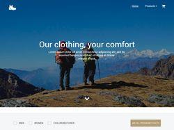 Сайт на angularJS