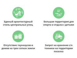 Иконки для коттеджного поселка Новотитаровка