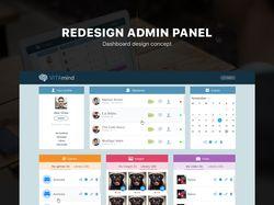 Админ-панель приложения VitaMind