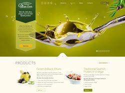 Olive Line International - разработка сайта