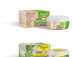 Коробка и упаковка для крема