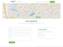 Сайт портфолио Wapik