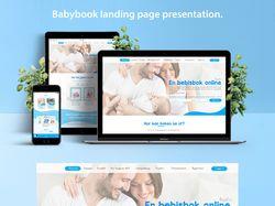 Дизайн лендинга для шведской компании Bajaboo