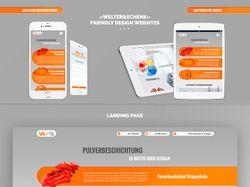 «Welter & Schenk» / Дизайн сайта