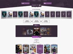 Дизайн Игрового интернет-магазина (кейсы)