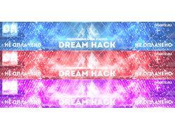 Шапка DreamHack YouTube (3 варианта)