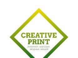 Логотип для интернет-магазина «Creative Print»