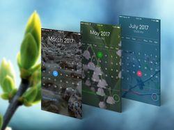 Calendar app project.