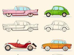 Коллекция ретро автомобилей