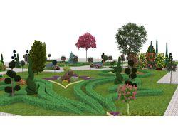 Ландшафтный дизайн 14