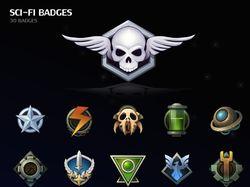 Sci-Fi Badges