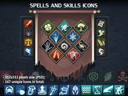 Flat Skills Icons