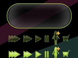 Интерфейс для мини игры Tele 2