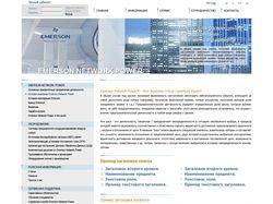 Сайт для EmersonNetworkPower