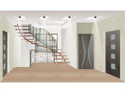 Дизайн интерьеров загородного дома
