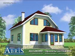 жилой дом из пеноблоков