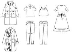 Создание коллекции одежды (дизайн одежды)