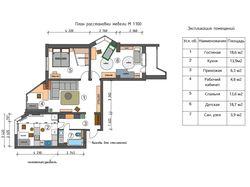 Дизайн проект квартиры г. Красногорск