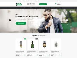 Вейп магазин на CMS WP + WooCommerce